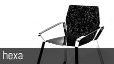 HEXA carbon fiber chair (Video) by MAST ELEMENTS - Design SABINO FERRANTE ARCHITECT