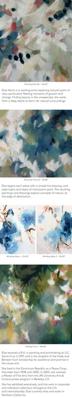 Featured Artist November 2015 | Elise Morris and her atmospheric paintings