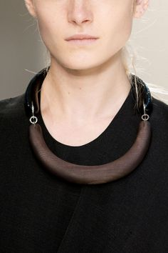 Wood Necklace - statement jewellery, chic fashion details // Marni Spring 2015