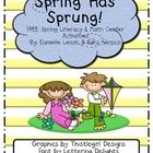 Spring Has Sprung Math and Literacy Unit What better way to jump into Spring than with this 40 page, fun packed, Spring Literacy and Math Unit! It includes seven hands on activities/centers to help reinforce literacy and math skills. They are appropriate for Kindergarten & First Grade students. FREE