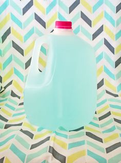 Homemade No-Grate Laundry Detergent