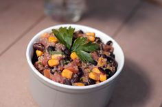 Clica para veres a receita completa de Quinoa Mexicana Vegan   Meio Cheio