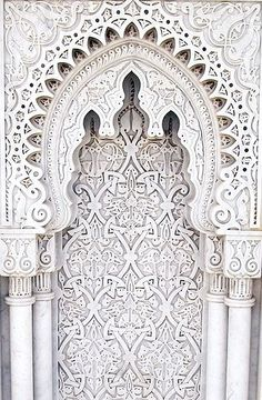 pinterest ~ liisajemima Interior Architecture, Morrocan Architecture, India Architecture, Amazing Architecture, Architecture Details, Moroccan Art, Moroccan Doors, Moroccan Tiles, Moroccan Design