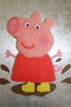 Peppa Pig Cake eg.