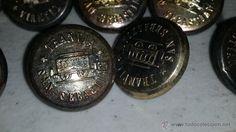 Botones del tranvía de San Sebastián, época Alfonso XIII. Personalized Items, Buttons