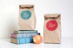 great paper bag designs. printing on paper bags.