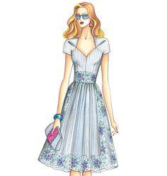 F3415 | Marfy Dress | New Designs | Butterick Patterns