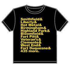 city of bridges shirt. need to get. #burgh