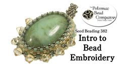 intro to bead embroidery nice site too.. great store with free tutorials// must check it out more....