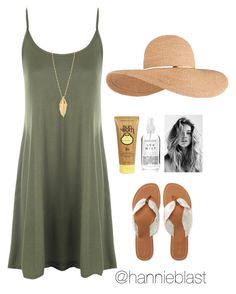 """""""Beach Babe + 3,000 Followers! #readD"""" by hannieblast ❤ liked on Polyvore featuring WearAll, Eugenia Kim, Sun Bum, Rebecca Minkoff and Aéropostale"""