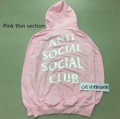 Men's Anti-Social Hooded Sweatshirt