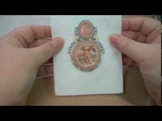 When it comes to bead embroidery, the backing you choose can make a difference! Here's a video on the types of bead embroidery backing, and how it's used. And once you're done, come on over and visit with me at www.beadedjewelry… — see you there! Bead Embroidery Tutorial, Bead Embroidery Patterns, Embroidery Bracelets, Bead Embroidery Jewelry, Beaded Embroidery, Beaded Jewelry, Jewellery, Fabric Beads, Fabric Jewelry