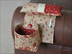 Pincushion Organiser / Scrap Bag Tutorial...hellz yeah, for sewing on the go!
