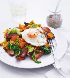 Use up Christmas leftovers with this bubble and squeak recipe, throw in anything else you've got too for a classic winter warmer.