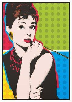 Princesinha de verão : Posters vintage para colocar em quadrinhos de decoração