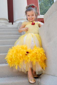 Princess Belle Costume/Tutu Dress. $59.99