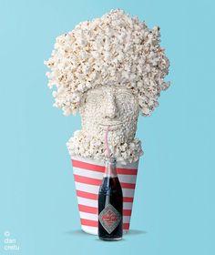 A arte gastronômica de Dan Cretu - Choco la Design |