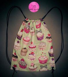 Cupcake Draw-string Bag