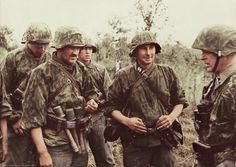 Waffen-ϟϟ Eastern Front, midd war.