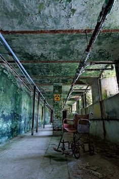The vast underground network of tunnels beneath Greystone Psychiatric Hospital in New Jersey.