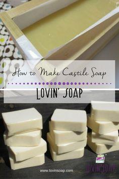 How to Make Castile Soap - Lovin Soap Studio