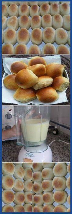 Pan blanco con juguera