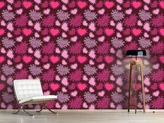 Design #Tapete Lady Hearts