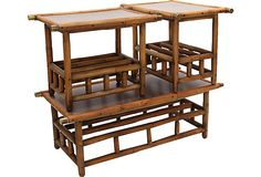 Bamboo Tables, Set of 3