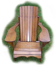 Muskoka/adirondack Chair Plans & Full Size Patterns PDF File