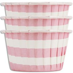 Pink Ring Stripe Nut Cups from Layer Cake Shop!  Great for small snacks or treats!