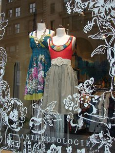 """ANTHROPOLOGIE,Chicago, Illinois, """"Plant Life"""" , pinned by Ton van der Veer"""