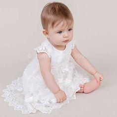 Vestido de bautismo de bebé vestido de bautismo vestido del