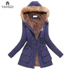 ccb0c12fa0e 2016 autumn winter fashion new female leisure fashion hooded cotton-padded  clothes   women s slim fur collar down jacket coat - B E S T Online  Marketplace - ...