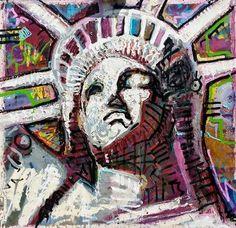 New York CIty Statue of Liberty by artist Matt Pecson