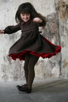 Twirling Little Dancer w/ Red Pettycoats, http://www.lesculottescourtes.com/p31