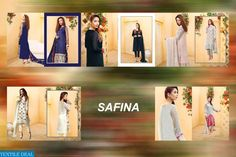 SAFINA WHOLESALE HEAVY EMBROIDERY SALWAR KAMEEZ Catelog pieces: 5 Full Catelog Price: 4155 Price Per piece: 831 MOQ: Full catalog Shipping Time: 4-5 days Delivery: Dispatch after 2016-08-18 Sizes: Semi Stich Fabrics Detail Top :- Fox Georgette  Bottom & inner :- Santoon Dupatta :- nazmin #nicecollection  #goodmateriel  #awesomelook Call&Whatsapp;+917405434651 website link :-http://textiledeal.in/wholesale-product/4389/Safina-Wholesale-Heavy-Embroidery-Salwar-Kameez