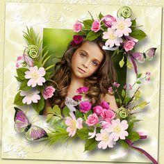 Rose Perlée By ElyScrap - Paradise Scrap Ely, Rose, Paradise, Scrap, Pink, Roses, Heaven