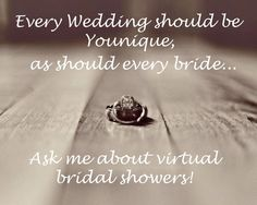 Throw A Virtual Bridal Shower The Bride With Makeup And Free Goodies Qualifying Party