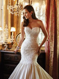 Sophia Tolli Wedding Dresses - Style Forsythia Y21378 [Forsythia] #wedding #dresses