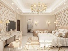 Modern Arabic Bedroom Design Bedroom Design Luxury Interior Design Company in Dubai, Fit Out Dream Rooms, Dream Bedroom, Home Decor Bedroom, Bedroom Furniture, Bedroom Sets, Interior Design Companies, Best Interior Design, Luxury Interior, Interior Decorating