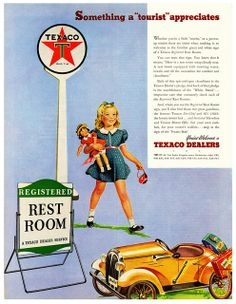 Texaco My Granddaddy had a texaco station we loved going there when we were small.