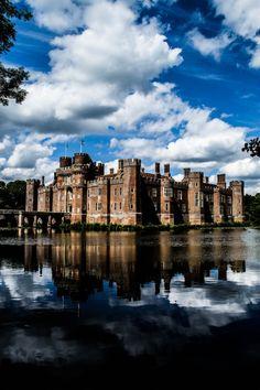 Herstmonceux Castle in Sussex, England