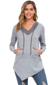 FEDULK Clearance Sweatshirt Women Hooded Winter Warm Pullover Coat Jumper Outwear