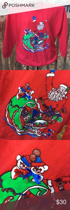 Vintage Ugly Christmas sweatshirt Great condition! Perfect for this ugly Christmas sweater parties and competitions! Andover Sweaters
