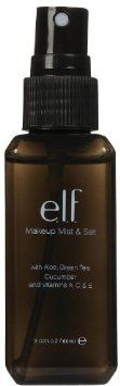 The elf Makeup Mist and Set, Clear, Ounce: Keeps your makeup staying in place all day with a radiance boosting invisible hold The invigorating mist moistur Elf Makeup, Makeup Dupes, Makeup Cosmetics, Face Makeup, Beauty Skin, Beauty Makeup, Beauty Tips, Beauty Products, Beauty Stuff