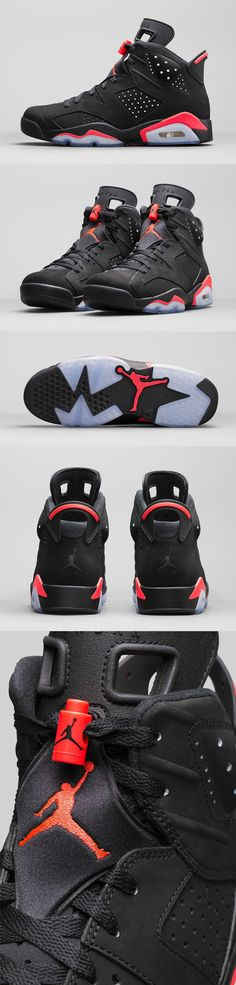 Air Jordan 6 - Black Infrared 23