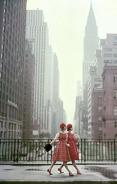 Late 50s/Early 60s in Tudor City, NYC #1950s #vintage