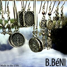 ♥ Who doesn't LOVE earrings? Even better when they are 25% off with the code FABULOUS. Summer is coming, let's put  our hair up and put on some dangles! ♥  https://bbeni.com/collections/earrings #earrings   #jewelry   #dangleearrings
