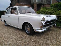 Ford Cortina Mk1 GT - 1966 - 1650cc - 2 Door - Lotus Steels - White - Restored | eBay
