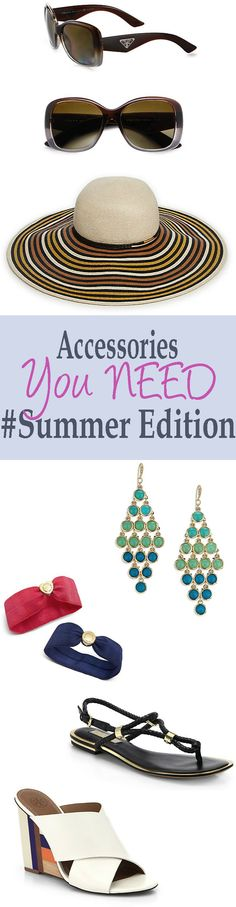 Accessories You NEED For Summer 2015